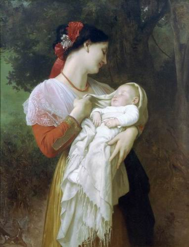 Maternal Admiration, 1869 (Admiration Maternelle)