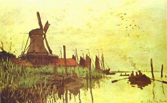 Mill near Zaandam. 1871