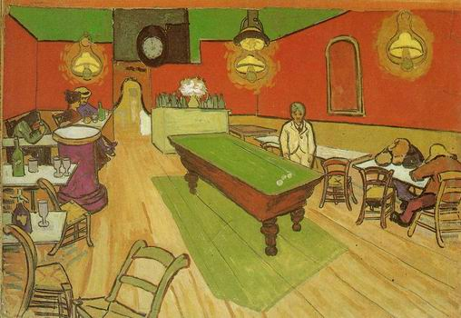 Night Cafe in the Place Lamartine in Arles, The ,Arles: September, 1888