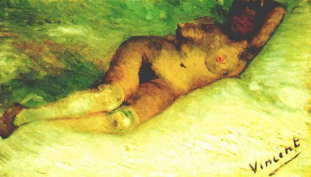 Nude Woman Reclining,Paris: early 1887