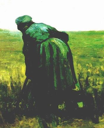 Peasant Woman Digging, Nuenen: July, 1885