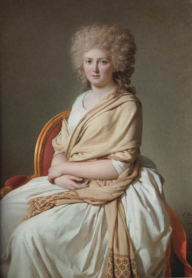 Portrait of Anne Marie Louise Thelusson