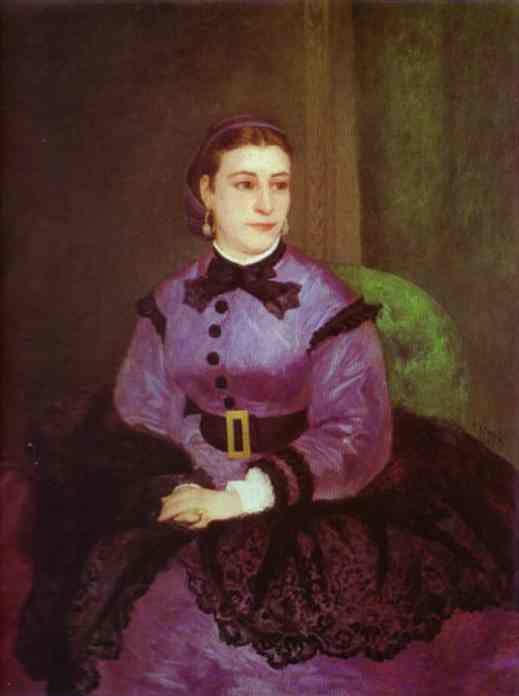 Portrait of Mademoiselle Sicot. 1865