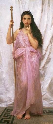 Priestess, Young Priestess, 1902