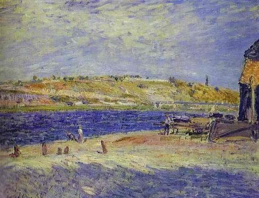 River Banks at St. Mammes. 1884.