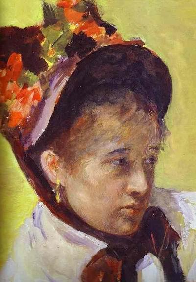 Self Portrait. Detail. c. 1878