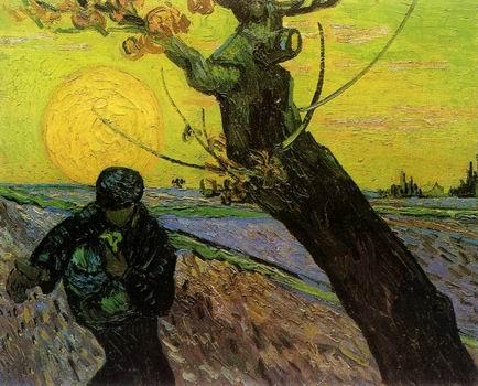 Sower, The,Arles: November, 1888