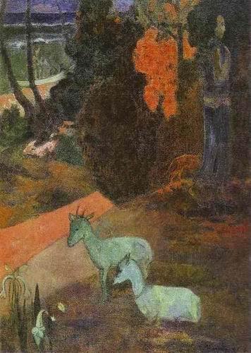 Tarari maruru (Landscape with Two Goats). 1897