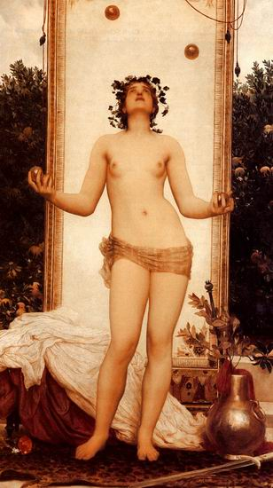 The Antique Juggling Girl
