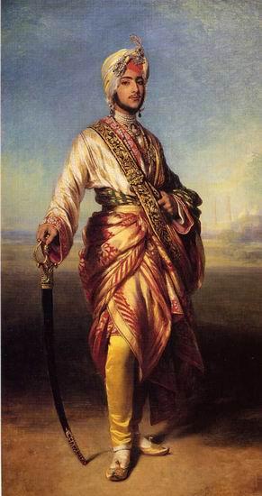 The Maharajah Duleep Singh 1854