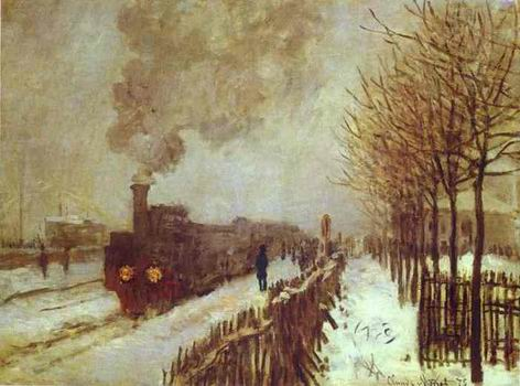 The Train in the Snow. 1875