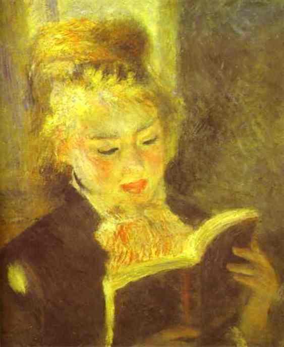 Woman Reading. 1875 1876