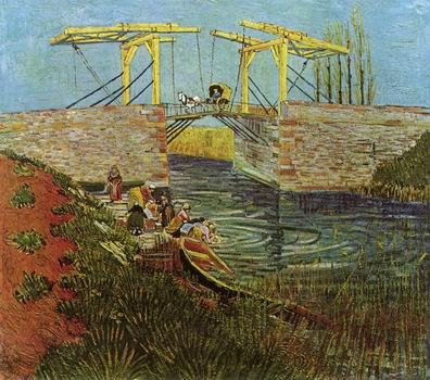 Langlois Bridge at Arles, The,Arles: April, 1888