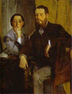 Portrait of Monsieur and Madame Edmondo Morbilli. c.1865