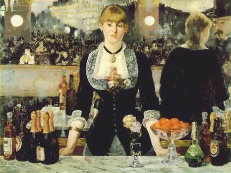 A Bar at the Folies Bergeres.1881 82