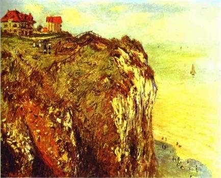 Cliffs near Dieppe. 1882
