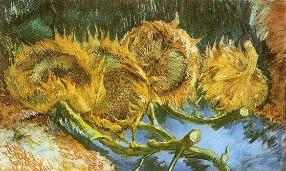 Four Cut Sunflowers, Paris: August September, 1887