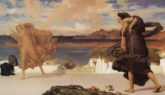 Greek Girls Playing at Ball
