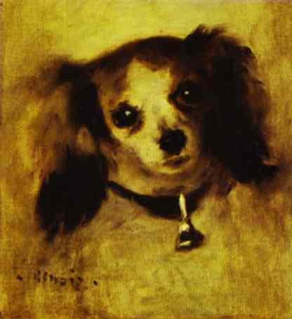 Head of a Dog. 1870.
