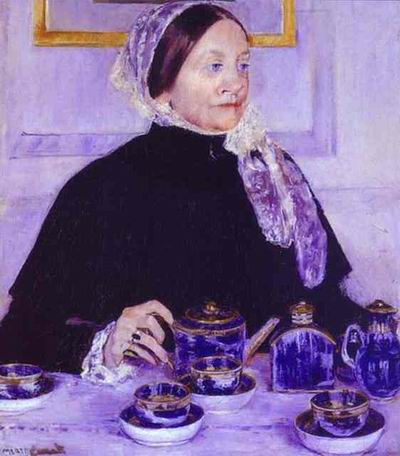Lady at the Tea Table. 1883