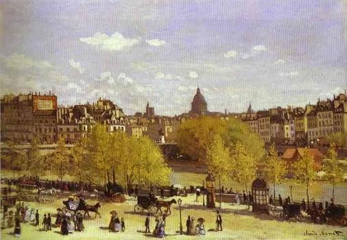 Quai du Louvre. 1867