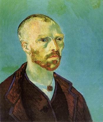 Self Portrait Dedicated to Paul Gauguin,1888