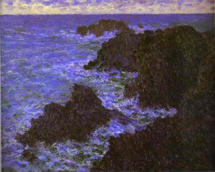 The Rocks of Belle Ile. 1886