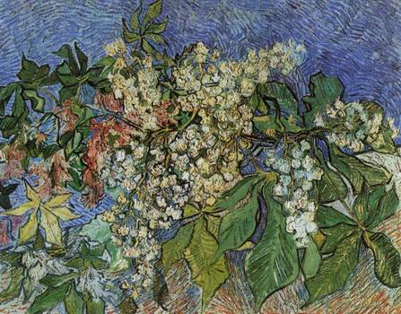 Blossoming Chestnut Branches,Auvers sur Oise: May, 1890