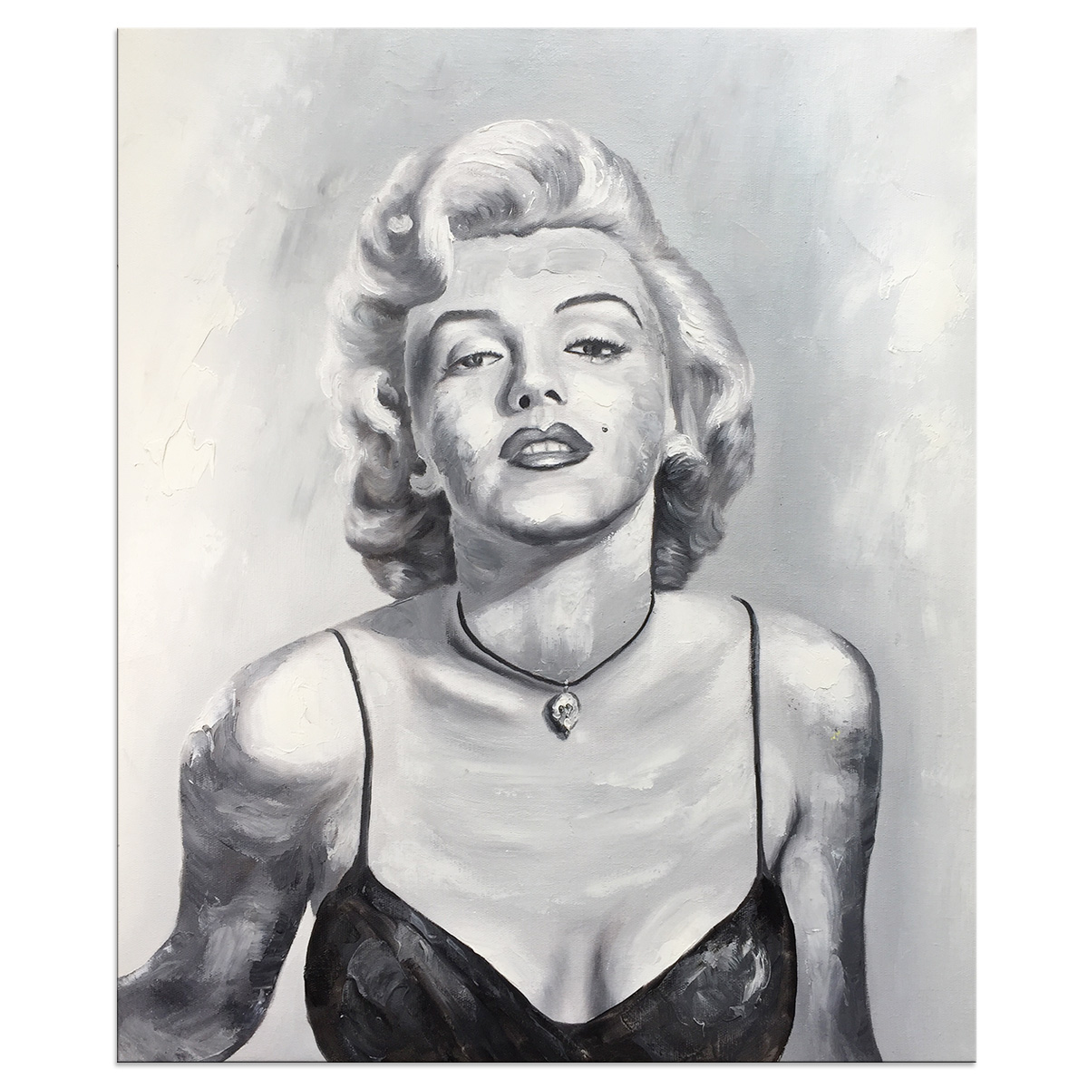 Oil Paintings Hand Painted on Canvas Wall Art Modern Contemporary Abstract Marilyn Monroe Artwork