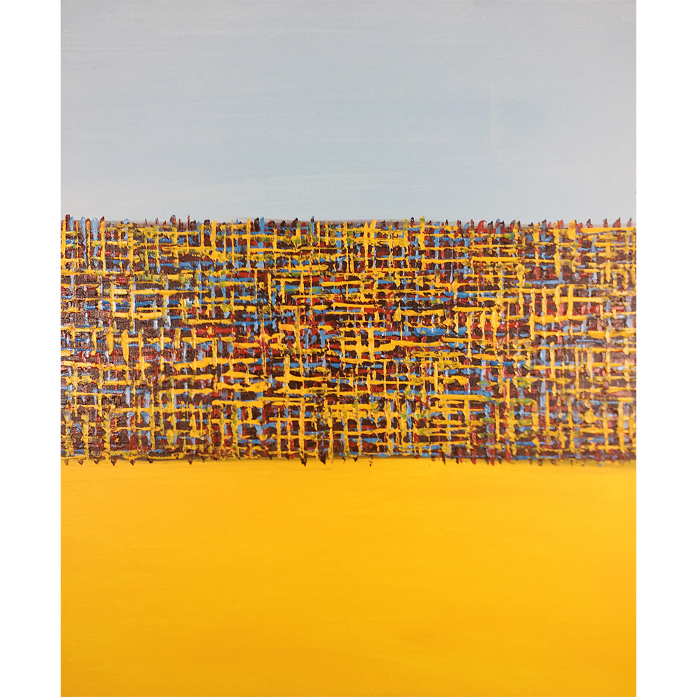Abstract Painting On Canvas Yellow Blue Hand Painted Oil Paintings Modern Art Online Colorful
