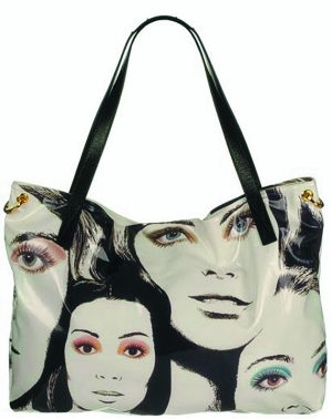 pop art handbag