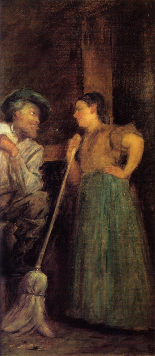 A Rustic Courtship