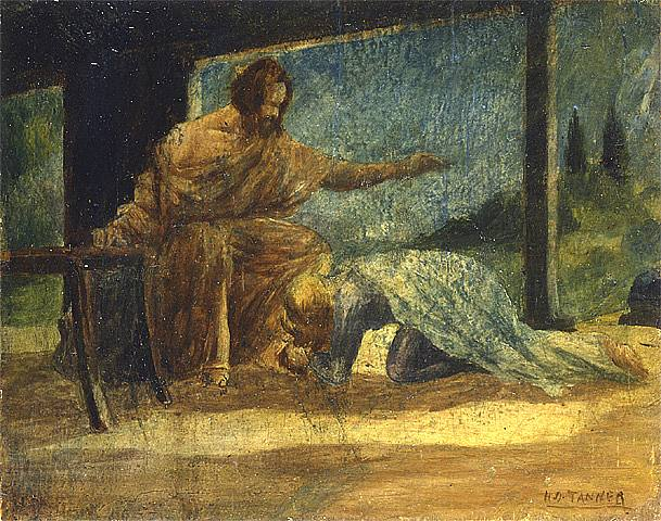 Mary Washing The Feet Of Christ