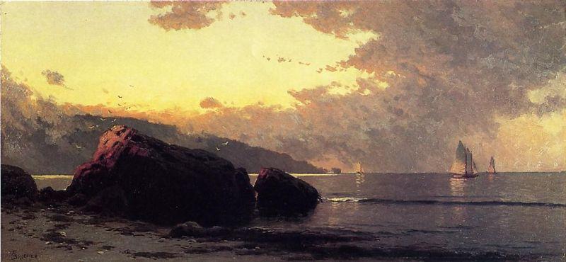 Sunset, Bailey Island