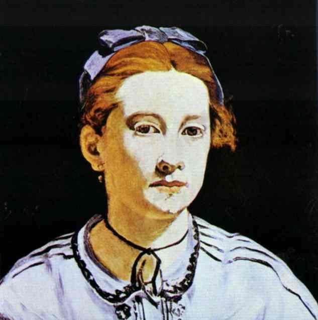 Portrait Of Victorine Meurent