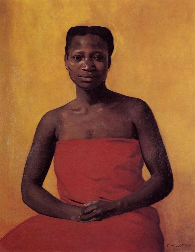 Seated Black Woman
