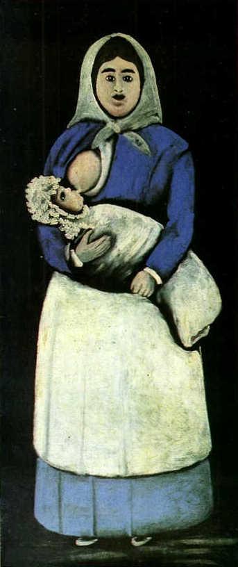 A Nurse With A Baby