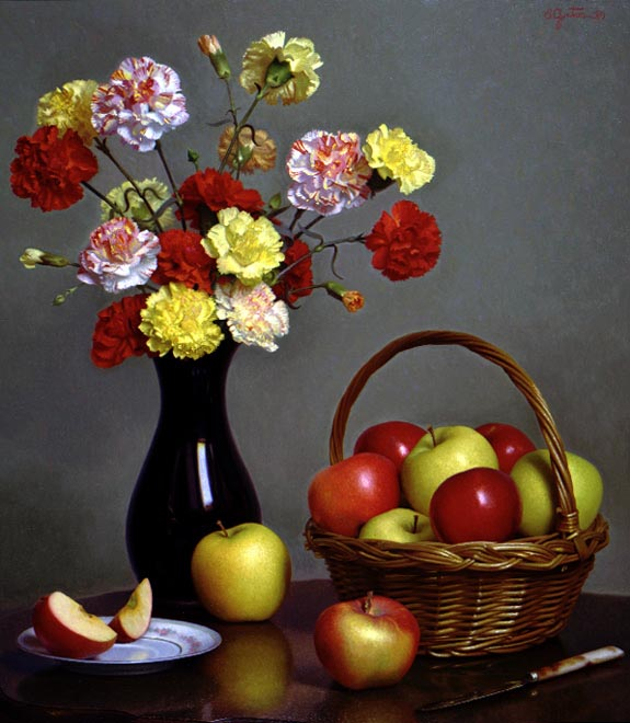 Carnations and Apples