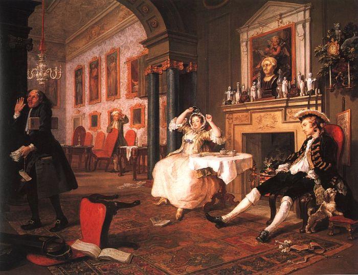 Marriage ? la Mode Scene II Early in the Morning