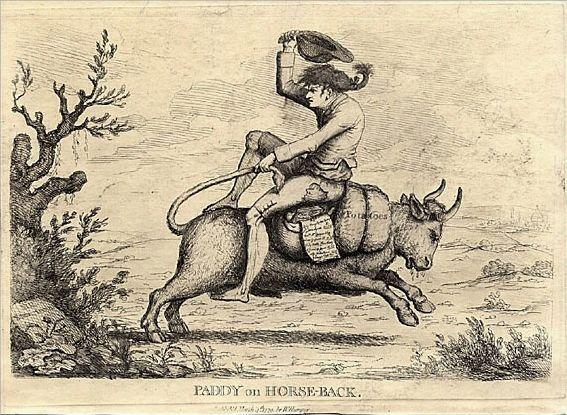 Paddy on Horseback