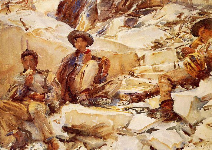 Carrara, Workmen