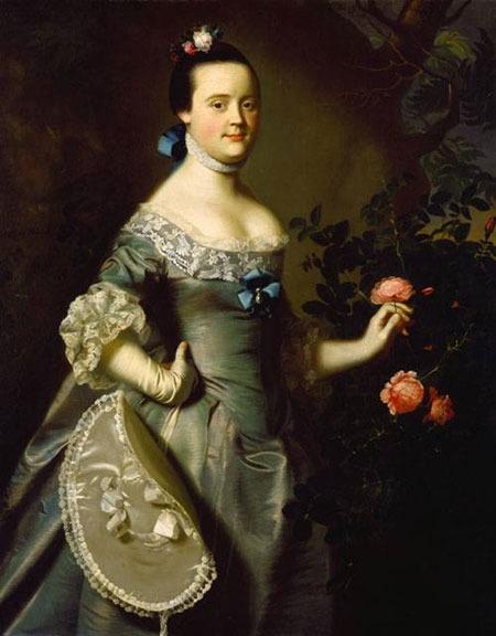 Portrait of Hannah Loring