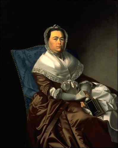 Portrait of Mrs. James Russell
