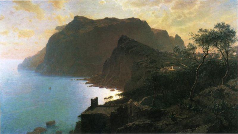 The Sea from Capri