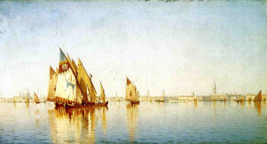 Venetian Sails, A Study