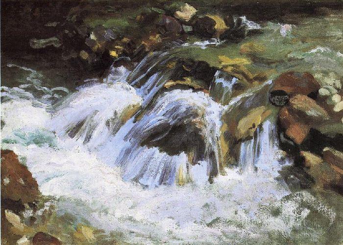 A Mountain Stream, Tyrol