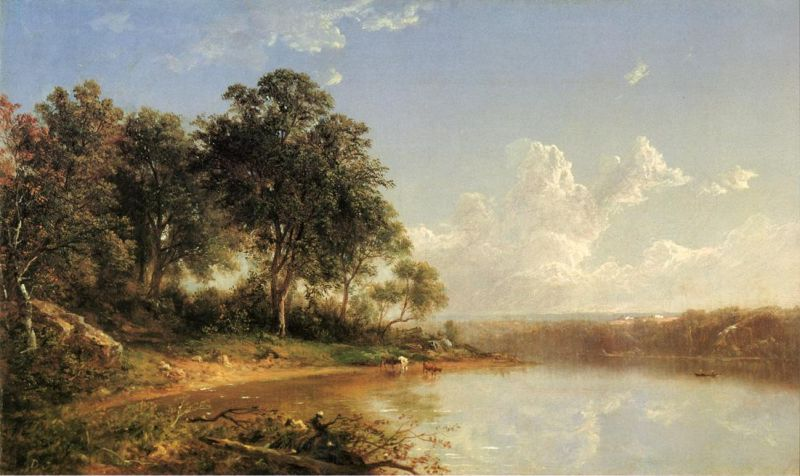 Afternoon Along the Banks of a River