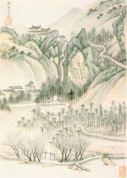 Scenery of Mountain Yu