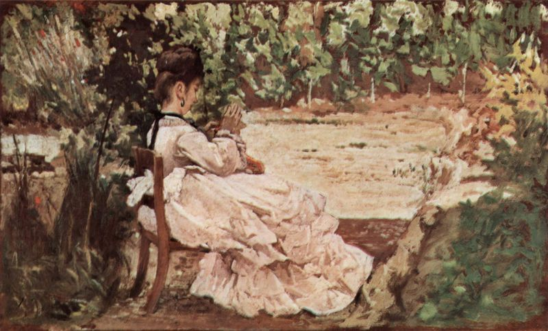Giovanni Woman in the Garden