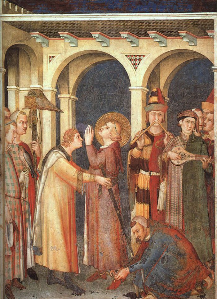 Saint Martin is Knighted